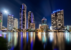 Gold Coast by night